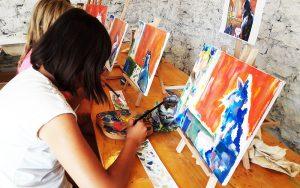 festő tábor