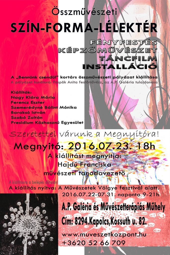 Kiállítás meghívó