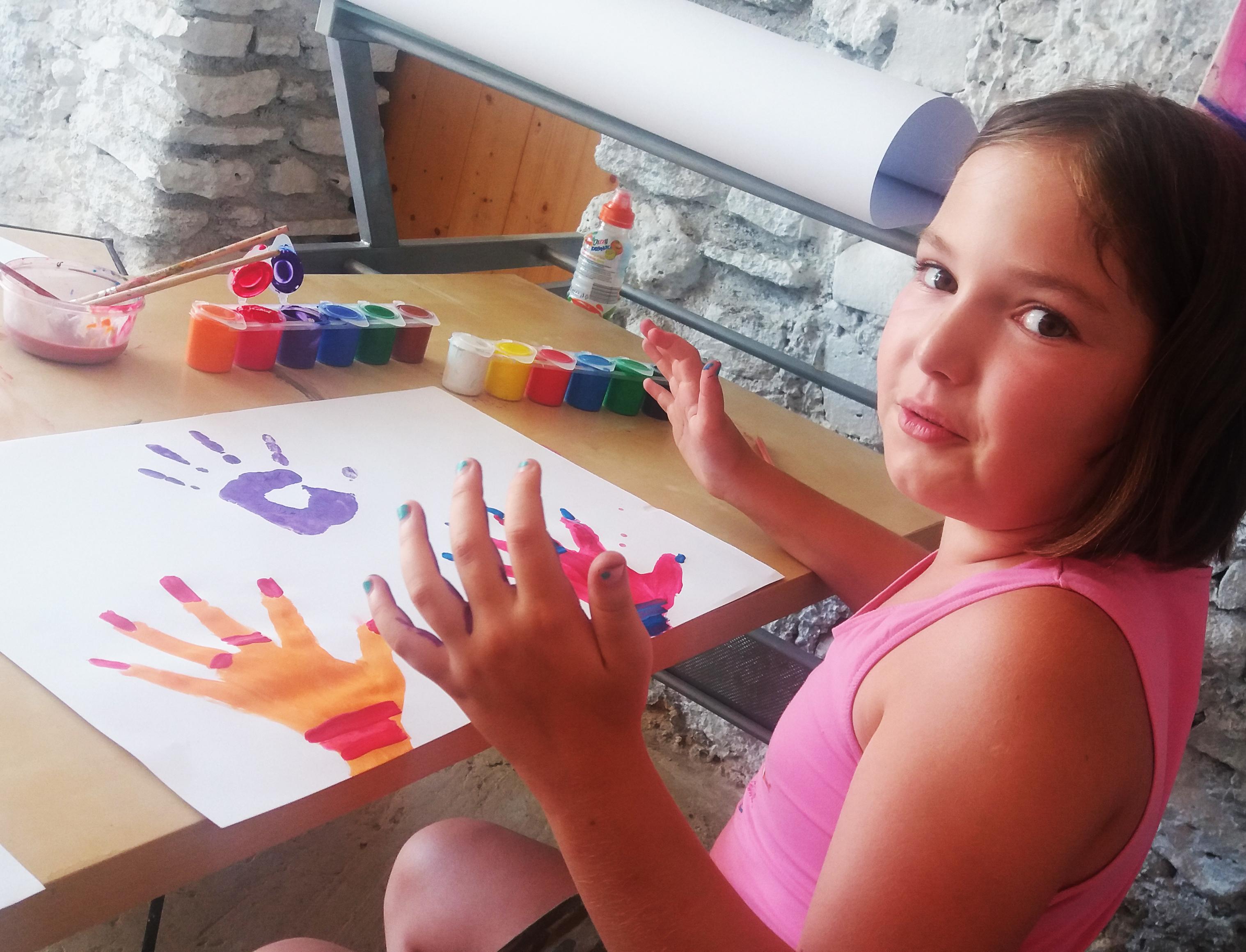művészeti tábor Kapolcs_gyermektábor_nyári tábor