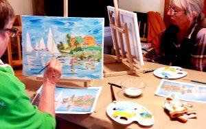 festő workshop