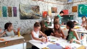 Művészeti gyerektábor Kapolcs