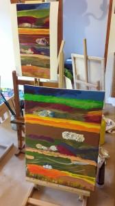 csapatépítő festő tréning