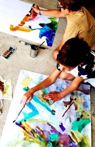 muveszeti tabor kapolcs nyári gyermektábor anita püspök műterem és alkotóműhely
