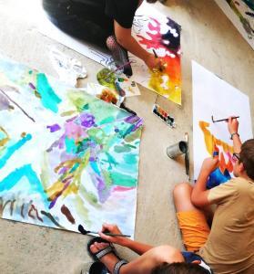 művészeti tábor kapolcs