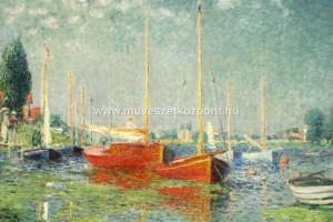 ClaudeMonet redboats