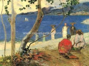 Paul Gauguin Bord de Mer