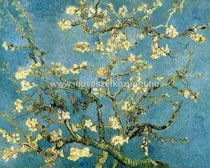 vangogh virágzó barackfa